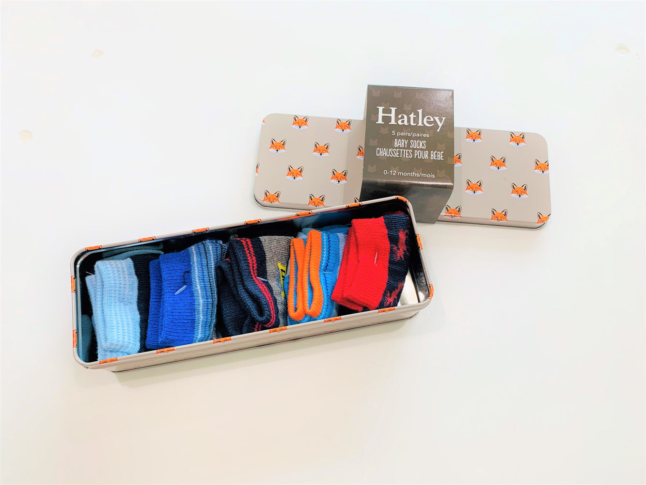 Hatley Baby Boys Sock Gift Tin