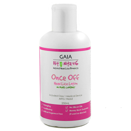 Gaia Hit Nitz Lice Lotion