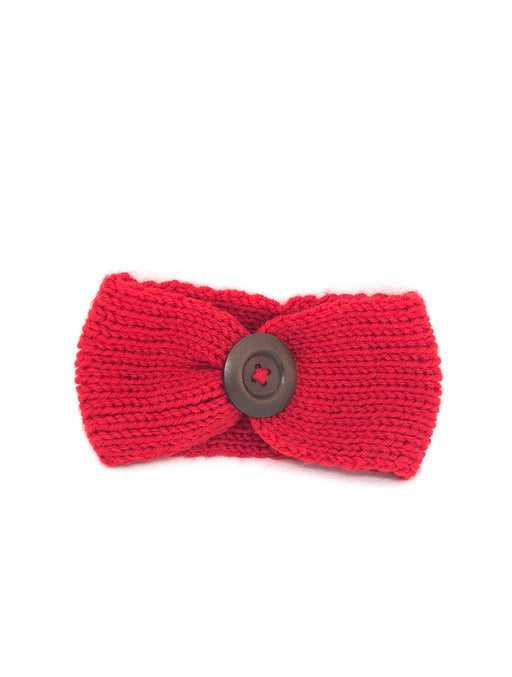 Knit Headband with Button Set