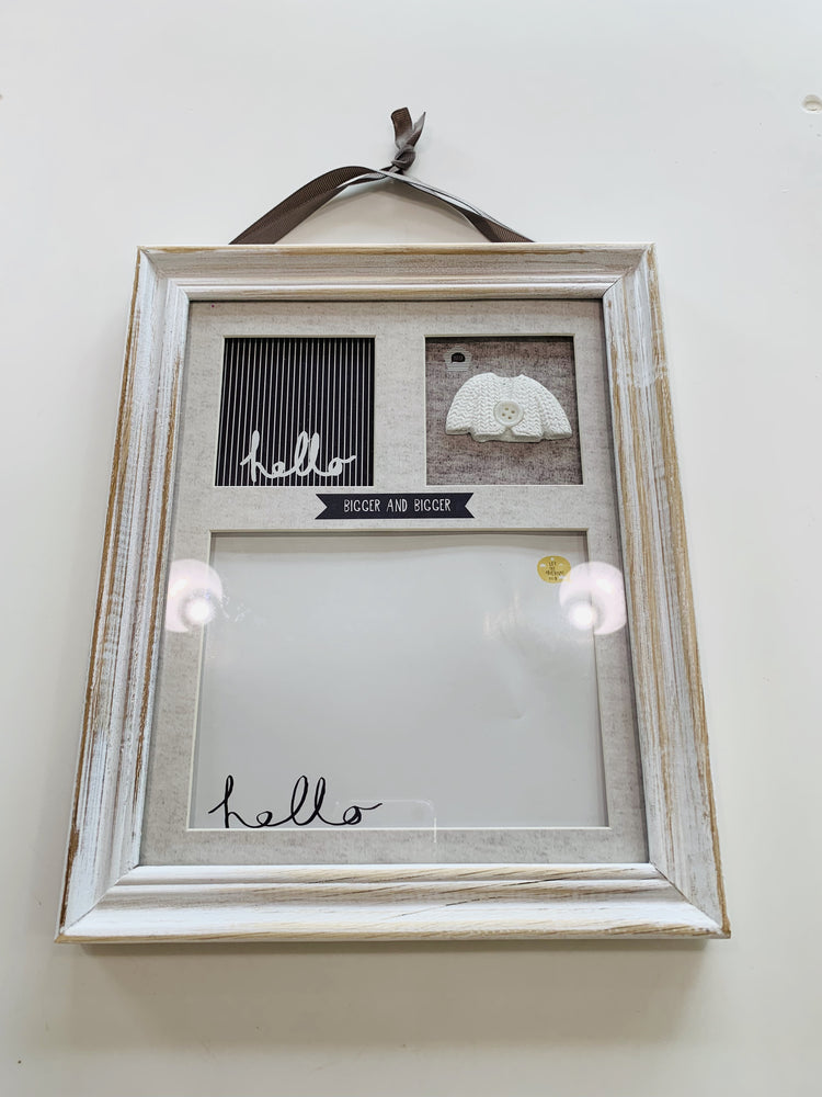 Baby Ink Pad Imprint Frame