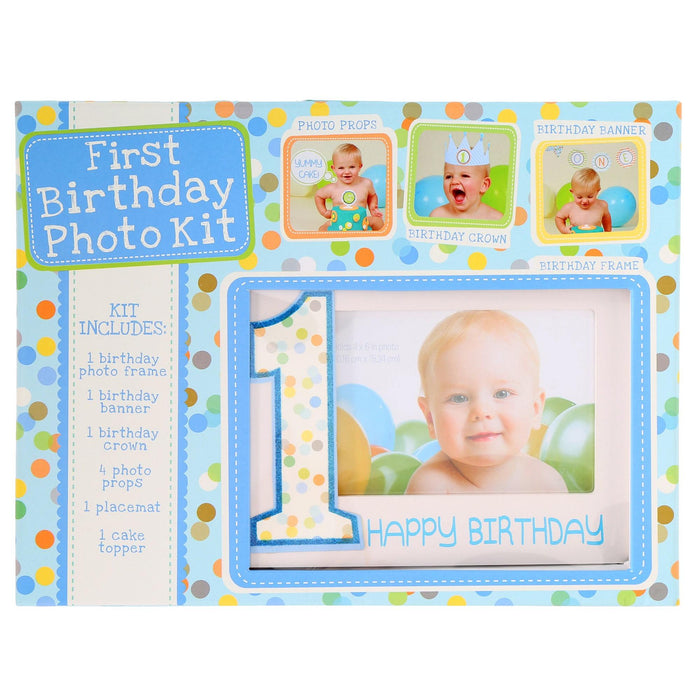 1st Birthday Boy Photo Kit