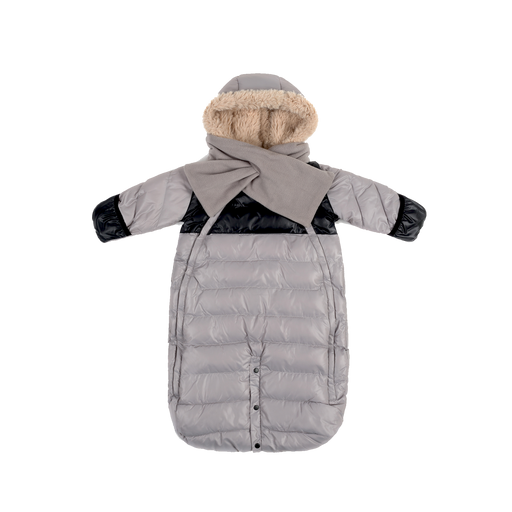 7AM Enfant Doudoune 100 Large (6-12 M) Grey/Black