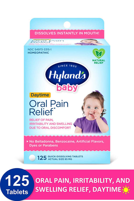 Hylands Oral Pain Relief