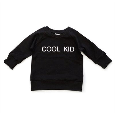 Posh and Cozy Child Cool Kid Crewneck