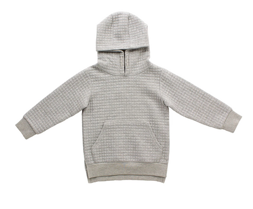 Bear Camp Textured Grey Hoodie