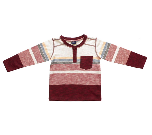 Bear Camp Boys Multi Long Sleeve