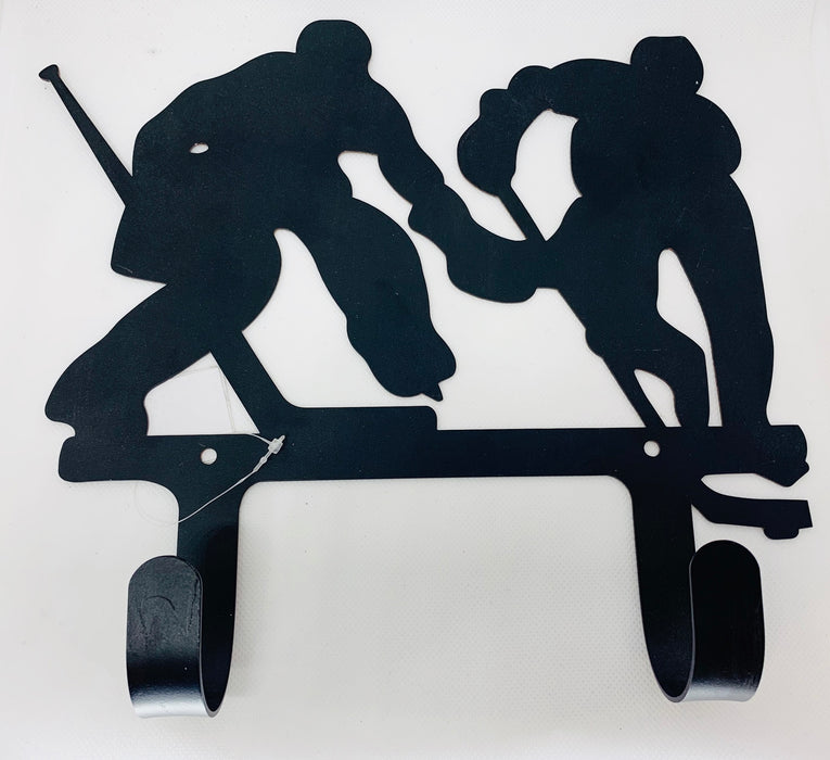 Metal Hockey Player Hook