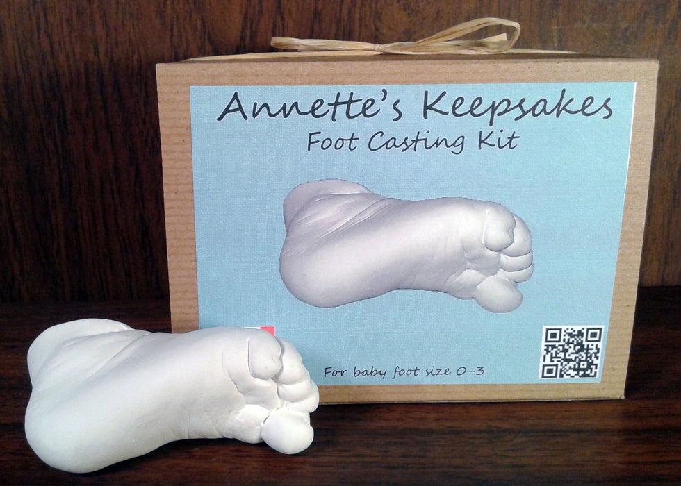 Annettes Keepsakes Baby Foot Casting Kit