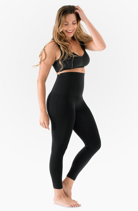 Belly Bandit Convertible Black Leggings
