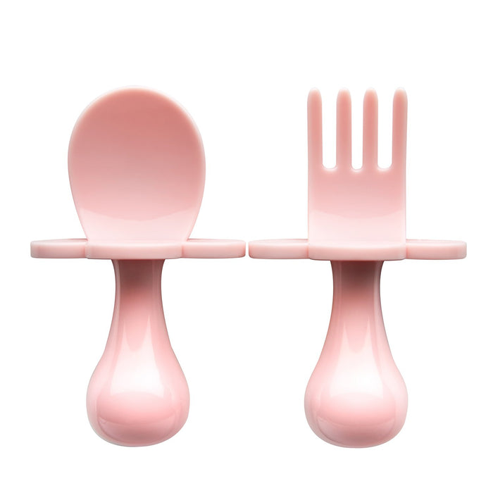 Grabease Baby spoon and fork set.