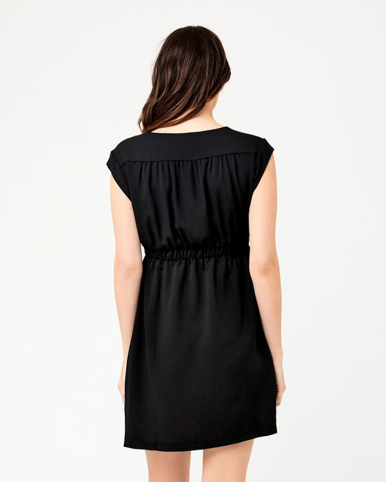 Ripe Maternity Belle Black Tunic Dress