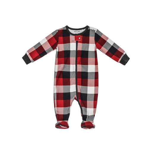 "Petit Lem ""Oh Deer"" Plaid Sleeper"