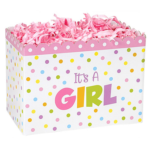 Its a Girl Basket Box