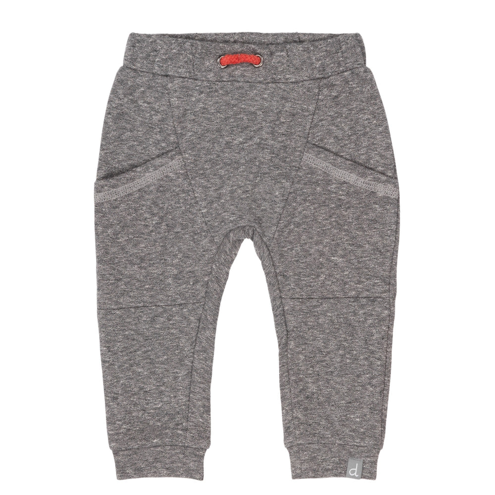 Deux par Deux Baby Dark Heather Grey French Terry Jogger