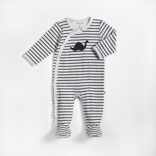 Petit Lem Striped Dino Sleeper