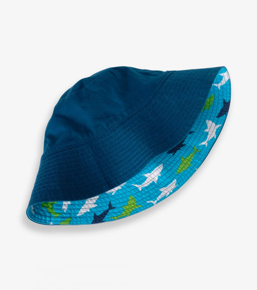 Great White Sharks Reversible Sun Hat