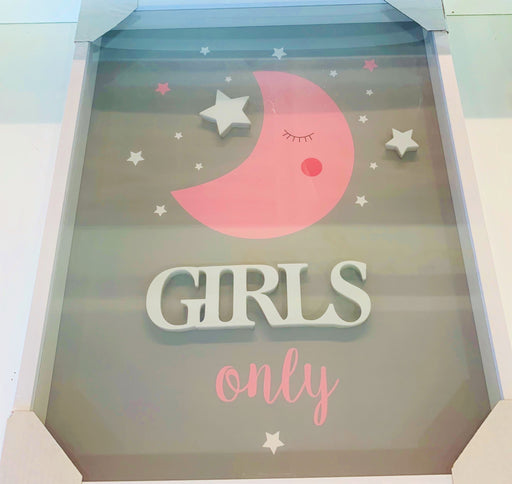 Girls Only Pink Frame