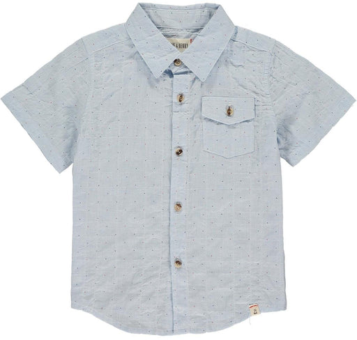 Me & Henry Toddler Blue Dot S/S Shirt