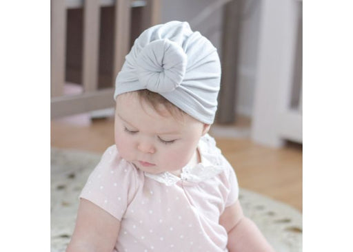 Mini Bretzel Turban Premium Grey
