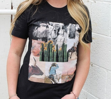 Sonny & Cher Western Graphic Tee
