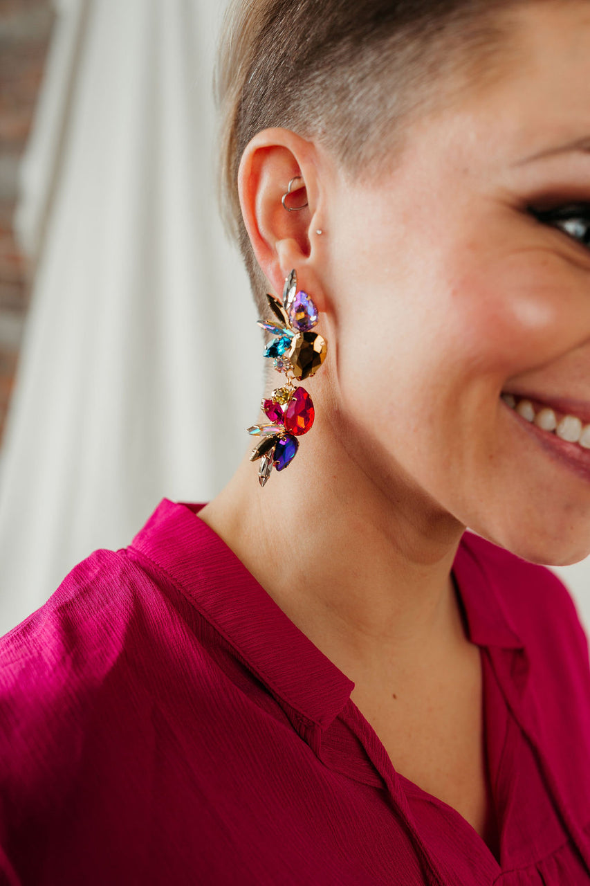 Bedazzle Date Night Earring
