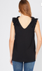 For the Frill of It Tank - BLACK