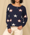 Star Spangled Knit Sweater