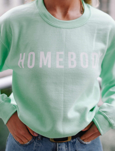 Mint // Homebody Sweatshirt
