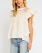 Ivy Crochet Ruffle Top