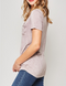 Last a Lifetime Lavender Burnout Pocket Tee