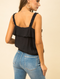 Madison Ruffle Edge Tank