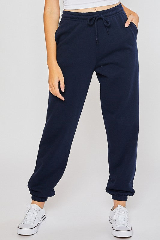 Navy // 90's Boyfriend Sweatpants