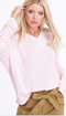 Pink Sands Cotton Jersey Long Sleeve Top