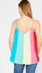 Color-Block Carnival Tank - Rainbow