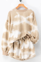 Siesta Time Tie Dye Lounge Set // Taupe