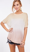 Southern Sunset Ombre Tee
