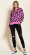 Such a Catch Leopard Sweater