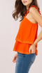 Sundown Ruffle Shoulder Tank