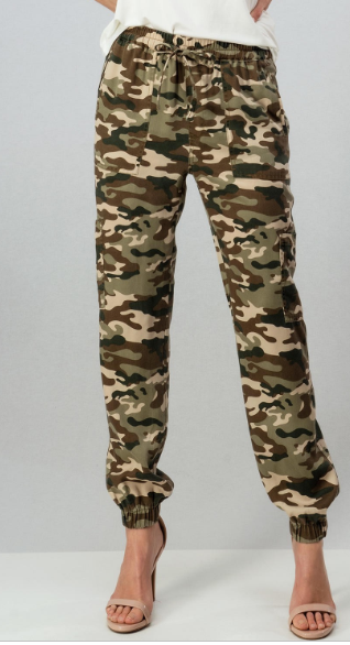 Uncommon Camo Drawstring Pocket Joggers