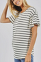 Weekend Wonder Stripe Knit Top - 2 COLOR OPTIONS