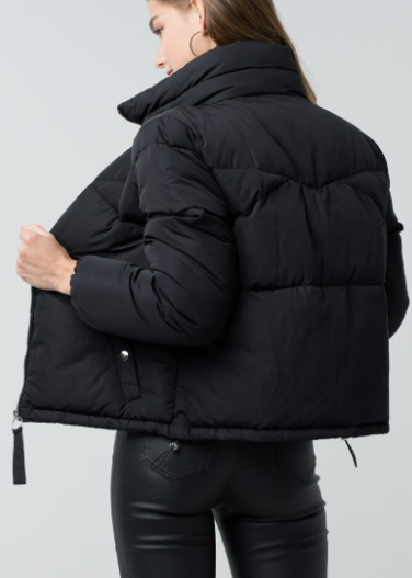 Winter Warrior Zip Up Puffer Jacket