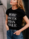 Black // More Issues than Vogue Graphic Tee