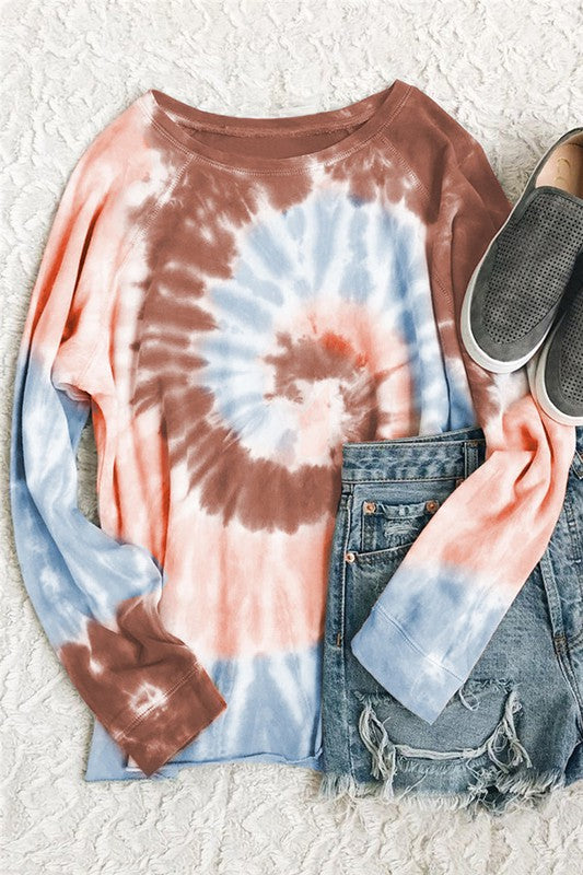 Made My Day Ombre Tie Dye Pullovers // 4 COLORS