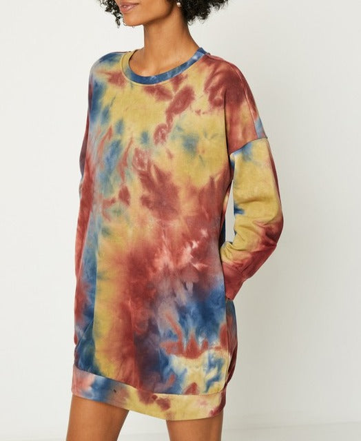 Milwaukee Tie Dye Dress