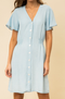 Pack A Picnic Short Sleeve Chambray Dress