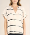 Equinox Blurred Stripe Top