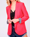 Holiday Heart Breaker Fuchsia Blazer