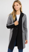Keep it Chic Colorblock Knit Jacket