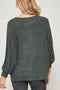 Martini Nights Olive Dolman Top