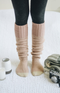 Never Get Cold Feet Knit Socks - 4 Colors